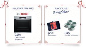 Câștigă 20 cuptoare electrice Bosch încorporabile