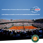 Castiga 5 pachete Roland Garros pentru fani