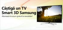 Castiga un televizor Smart 3D LED Samsung 32F6400