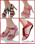 Castiga 5 perechi de sandale oferite de Karla