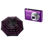 Castiga un aparat foto Samsung ST72 si 5 umbrele cu leduri