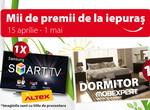Castiga un dormitor Mobexpert si un smart TV Samsung