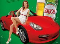 Castiga o masina Porsche Boxster, 52 de vacante all-inclusive la Mamaia si 20.000 baxuri de bere Skol