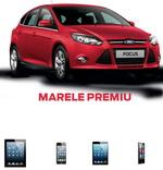 """Concurs """"Soferul Anului"""": castiga o masina Ford Focus Titanium, un iPad 4G, un iPhone 5, un iPad Mini si un iPod Nano"""