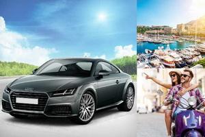 Câștigă o mașină Audi TT Coupe, 3 vacanțe în 2 la Monaco și 3 scutere Primavera 50 4T