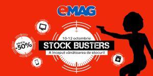 eMAG Stock Busters îți aduce reduceri de până la 50%