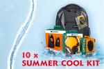 Castiga 10 kit-uri Summer Cool formate din rucsac, casti, boxe si mouse