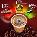 """Concurs """"Sunetul Doncafe"""": castiga o masina Toyota Auris, 8 scutere Piaggio, 366 mp3 playere si 100 de casti Sony"""