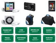 Castiga 25 de vacante, 62 de tablete Kindle Fire, 62 aparate foto Canon A2200, 62 iPod Nano si 200 premii garantate