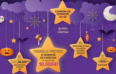 Câștigă o dorință de Crăciun de 10.000 euro