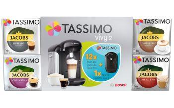 Câștigă garantat un espressor Bosch Tassimo Vivy II