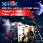 Castiga un telescop Celestron AstroMaster 70 EQ, refractor