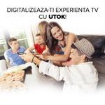 Castiga un televizor UTOK U32HD1 cu tuner DVB-T2 incorporat