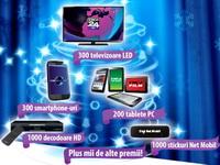 """Concurs """"Tombola Craciunului"""": castiga 300 televizoare led, 300 smartphone-uri, 200 de tablete pc si alte 6.000 de premii"""