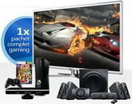 Castiga un televizor led 3D Samsung, 6 console xBox 360 Kinect si un set de boxe Logitech 5.1