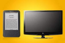 Castiga un televizor lcd LG si un ebook reader Kindle