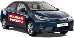 Câștigă o mașină Toyota Corolla și 24 vouchere carburant în valoare de 250 lei fiecare