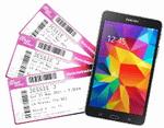 Castiga 7 pachete Jessie J Show, 15 tablete Samsung Galaxy Tab 4 si 640 de casti Scott
