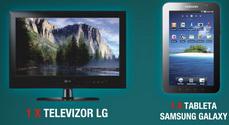 """Concurs """"Premiile TvMania"""": castiga 10.000 lei, un televizor LG, o tableta Samsung Galaxy Tab si alte sute de premii"""