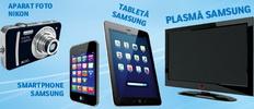 Castiga un televizor Samsung, o tableta Samsung, un smartphone Samsung Galaxy S2 si un aparat foto Nikon