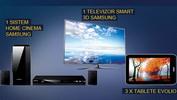 Castiga un televizor 3D Samsung, un sistem home cinema Samsung si 3 tablete Evolio