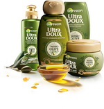 Castiga noua gama de sampon Ultra Doux Mythic Olive de la Garnier pentru un an
