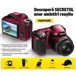 Castiga un aparat foto Nikon Coolpix L810