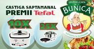 Castiga 10 multicookere Tefal si 25 seturi vase de bucatarie Tefal