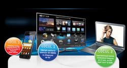 "Castiga un televizor LED Smart TV 3D Samsung, un laptop Samsung 17"" si un smartphone Samsung Galaxy SII"