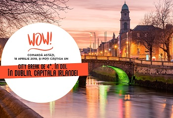 Câștigă un city break de 4 stele la Dublin