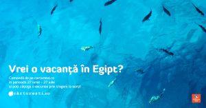 Câștigă o vacanță în Egipt