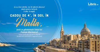 Câștigă un city break de 4 stele în Malta