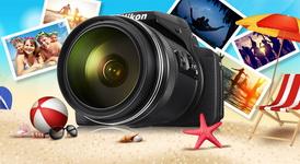 Castiga un aparat foto Nikon Coolpix P900