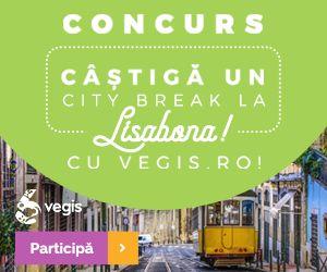 Câștigă un city break (3 nopți) pentru 2 persoane în Lisabona