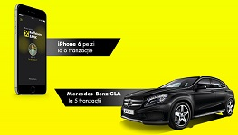 Castiga o masina Mercedes-Benz GLA si 142 iPhone 6