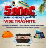 "Concurs ""Vise de 5.000 de euro"": castiga 5.000 de euro, 15 tablete pc si 140 de corturi"