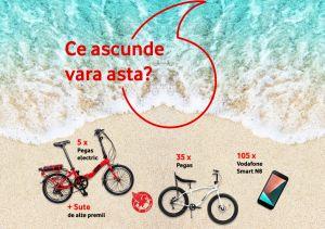 Câștigă 5 biciclete electrice Pegas Dinamic Camping, 35 biciclete Pegas Cutezător și 105 smartphone-uri Vodafone N8