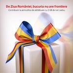 De Ziua Națională a României primești cadou 2 GB în rețeaua Vodafone