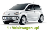 Castiga o masina Volkswagen Up!