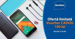 Câștigă garantat un voucher Euro GSM în valoare de 100 lei