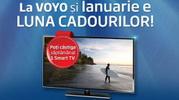 Castiga 4 televizoare Samsung Smart TV