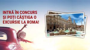 Câștigă o excursie la Roma alături de o persoană dragă