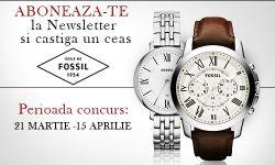 Castiga un ceas Fossil