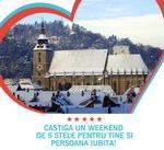 Castiga 3 weekend-uri la Brasov si 20 de pixuri Online