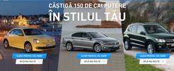 Castiga o masina Volkswagen Beetle, Volkswagen Passat sau Volkswagen Tiguan