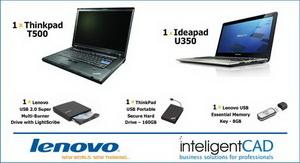 Castiga 2 laptopuri Lenovo si alte periferice Lenovo