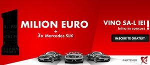Castiga un milion de euro si 3 masini Mercedes SLK
