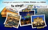 Castiga un weekend la Roma, Praga sau Viena
