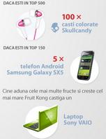 Castiga un laptop Sony Vaio, 5 telefoane Samung Galaxy S si 100 casti Skull Candy