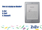 Castiga un ebook reader Kindle si 9 vouchere Diverta de 100 de lei